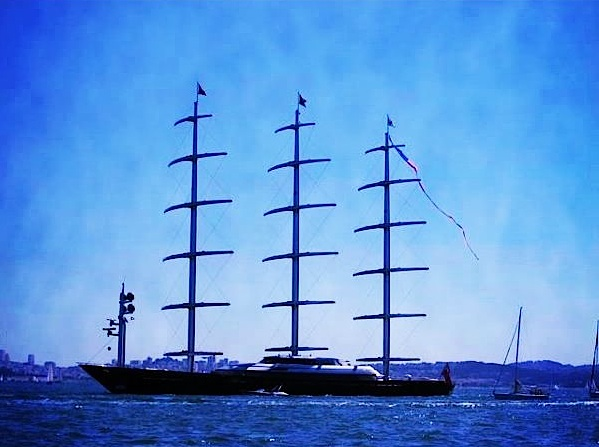 Maltese Falcon Yacht…   Satin & Sand