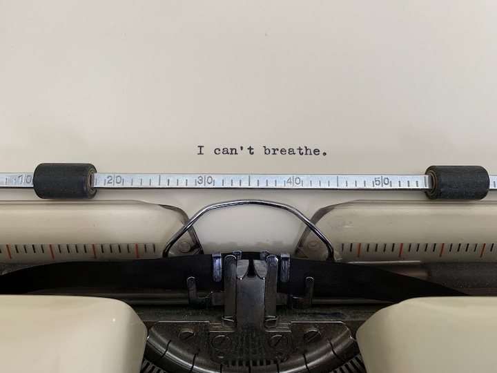 Typewriter James Currie